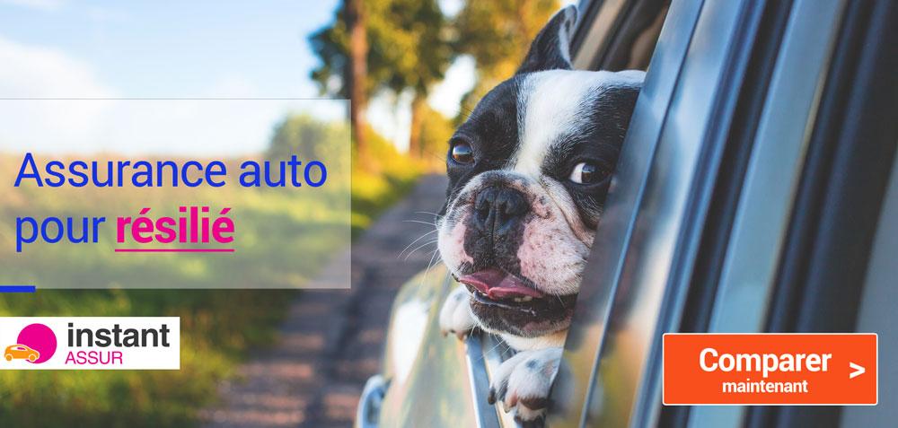 Assurance auto pour conducteur résilié