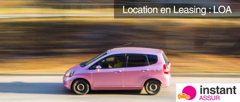 location en leasing depot de garantie