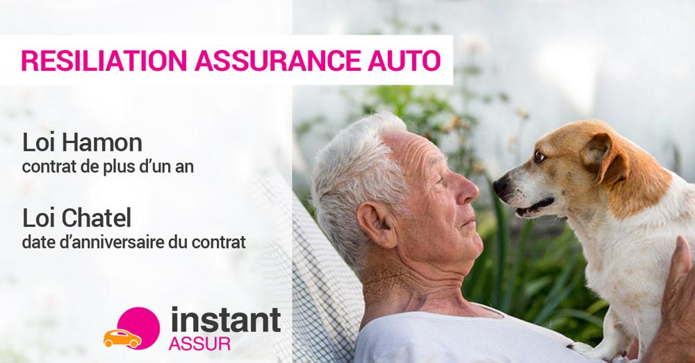 Résiliation assurance auto
