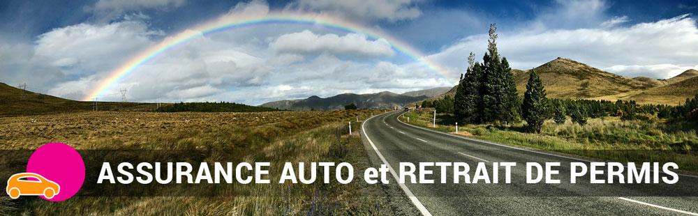 assurance auto et retrait de permis