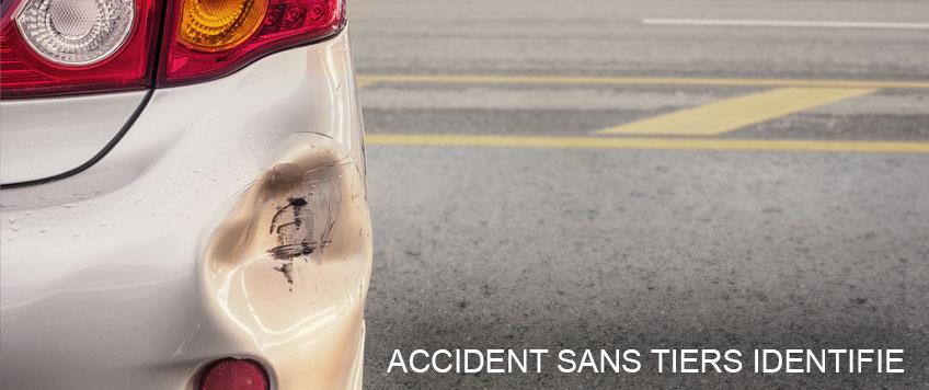 accident sans tiers identifié et assurance auto